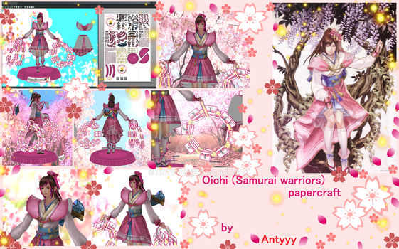 Oichi (Samurai Warriors 4) commission by Antyyy