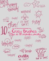 Crazy Brushes by EmilyStyles