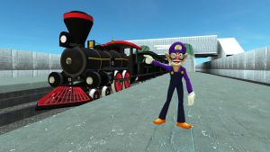 Welcome to the Waluigi Railroad by ZeFrenchM