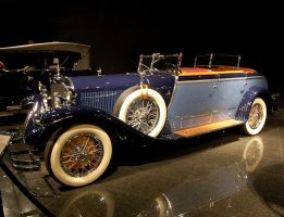 1926 Mercedes Transformable K by Partywave