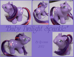 Baby Twilight Sparkle by Epona80