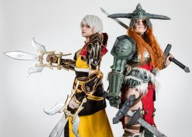 Monk and Barbarian - ECG 2014 Poland team! by polkajolka
