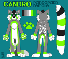 Candro Official SVC Ref Sheet by kitty3123