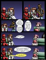 Deadpool and Nanoha issue 7 by Evil-Rick