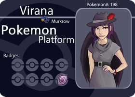 PokemonPlatform: Virana by LinearMango