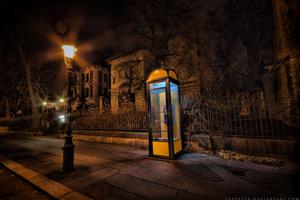 telephone in Budapest by thePetya