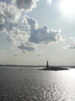 statue of liberty by carchieee