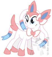 Ponymon - Sylveon by partylikeapegasister