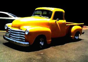 yellow truck by Infekted1000