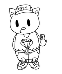 Swag Fag Hello Kitty by Empawk