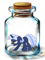 Bottled Up: Silverlay (Angry) by Songbreeze741