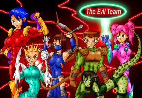 EVIL TEAM by Aprion