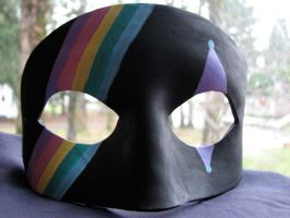 Killjoy inspired rainbow mask by maskedzone