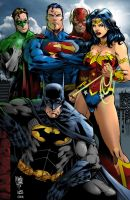 Justice League by scroll142