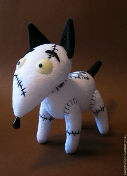Toy Electro Dog Sparky by Sweetrabbit-Art