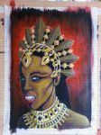 Akasha Queen of the Damned by The-Dreaming-Dragon
