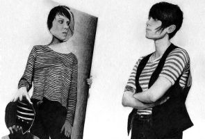Tegan and Sara drawing by beckenslobber