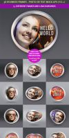 15 Rounded 3D Frame Mock-Ups by hugoo13