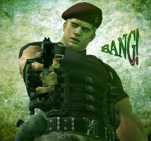 Bang Krauser by UmbrellaSpecter