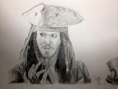 Jack Sparrow Drawing by asomr1