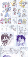 Maths doodles by LeniProduction
