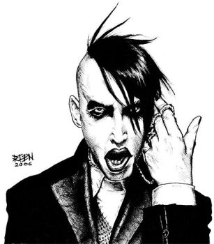Marilyn Manson by magnetic-eye
