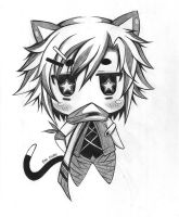 CHIBI neko by AnimexL0ver17