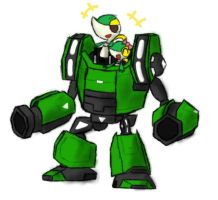 Nick and Cindy DX ROBO by R-MK