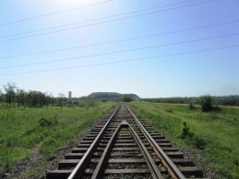 Abandoned railroad by FCSD