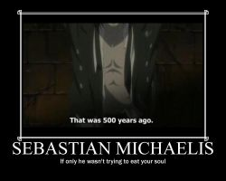 Sebastian Michaelis by PharaohBec