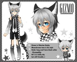 :OC: Gizmo reference sheet by PrinceOfRedroses