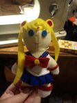 Sailor Moon Button Eye Doll by GlitterDustPT