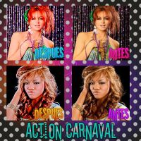 Divas carnaval action by DivasAndSuperstars