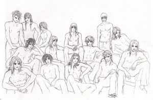 +The Male Harem+ by Dragonfly69x2