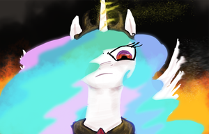What happened Celestia. by AtomicWarpin