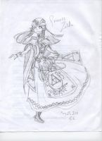 Original Princess Zelda design~ (old) by StarlightOrchard