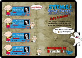 Stewies Sexy Party for CAD by Bayushi-Tai