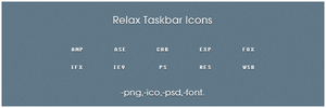 Relax icons by msergt