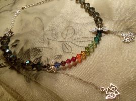 SPARKLEH RAINBOW NECKLACE by Destinyfall