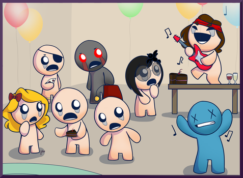 Binding of Isaac Commission by JaidenAnimations