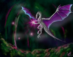dragon faerie by flannery123