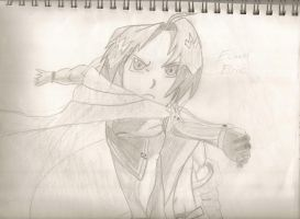 Ed Elric's Automail Punch by fullmetaladdict1101