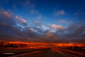 Colorfull Sunset. by sergey1984