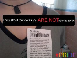 Day of Silence 2013 by H4zardB4stard