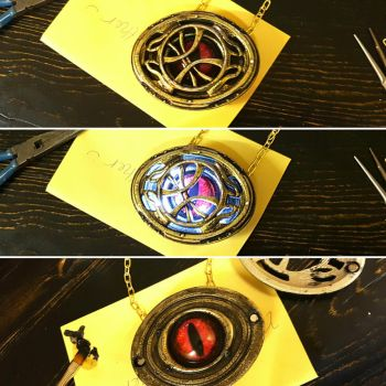 Eye of Agamotto by D-Cranford