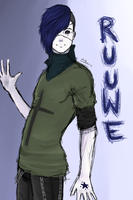 Ruuwe - a dude by Stoffkamel