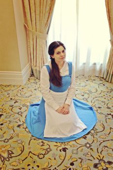 Beauty and the Beast: Belle by SerenaDoll