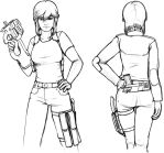 Amber Light Combat Sketch by The-Brade