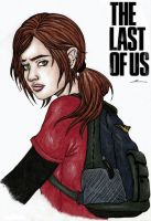 Ellie The last of us by Marii-ScriB