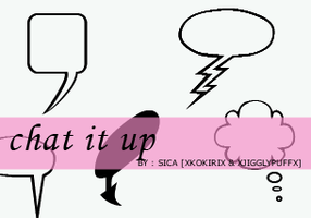 21st set - Chat it up - PS by girlinabox